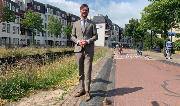 <p>Wethouder Sander Bos</p>