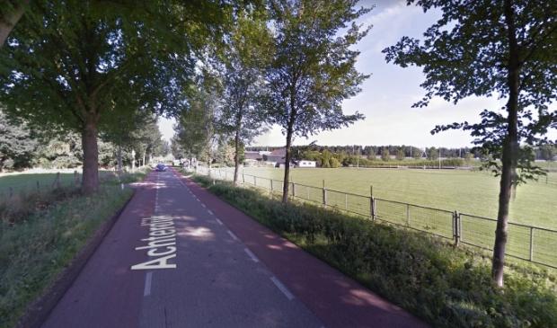 De spitsafsluiting gebeurt met borden, op het wegvak tussen de Marsdijk en de Tureluurweg.