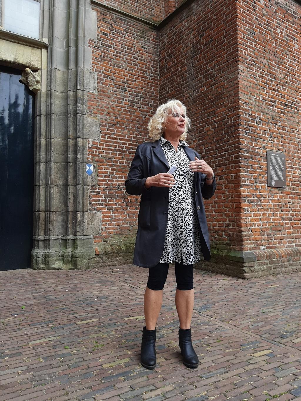 Wethouder Wil Kosterman bij de opening Pop-Up Museum Dorestad Wes Jansen © BDU media