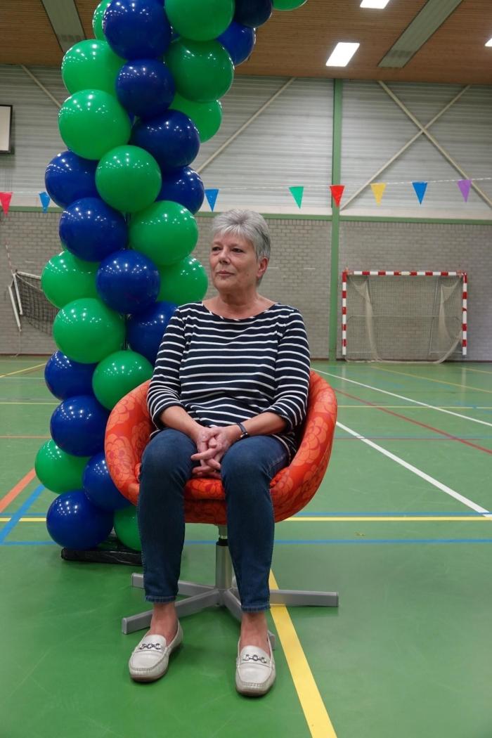 Joke Jansen al meer dan 30 jaar vrijwilligerswerk!  Janine Jonkman © BDU Media