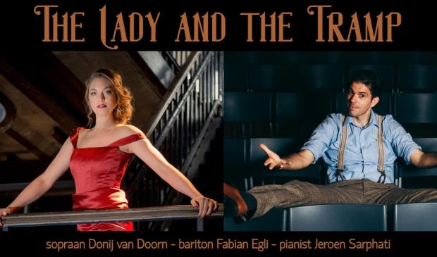 Donij van Doorn en Fabian Egli treden op in het Nieuwe Normaal Theater op landgoed Leusderend.