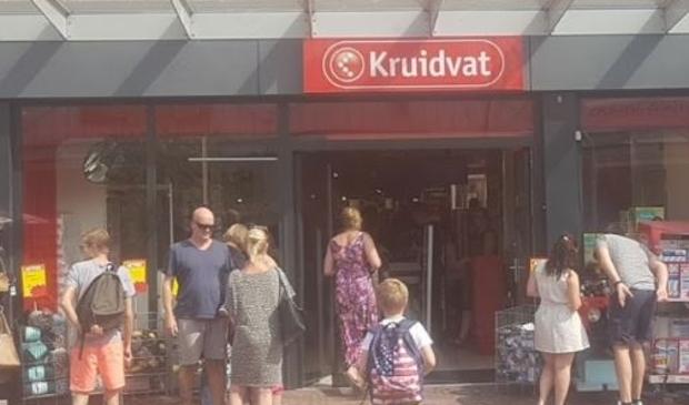 Het oude filiaal van Kruidvat aan het Marktplein.