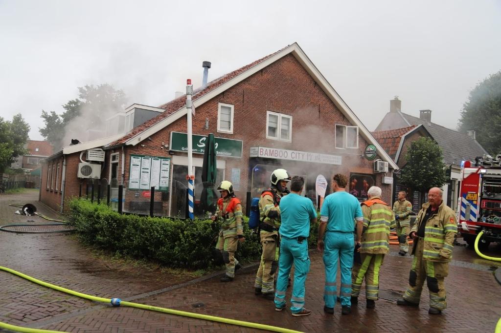 Twee bewoners waren thuis, maar konden zich in veiligheid stellen. 112 Heuvelrug © BDU