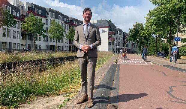 Wethouder Sander Bos