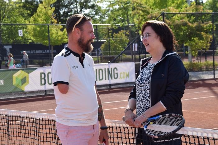 Marc van Staveren en Mieke Booij