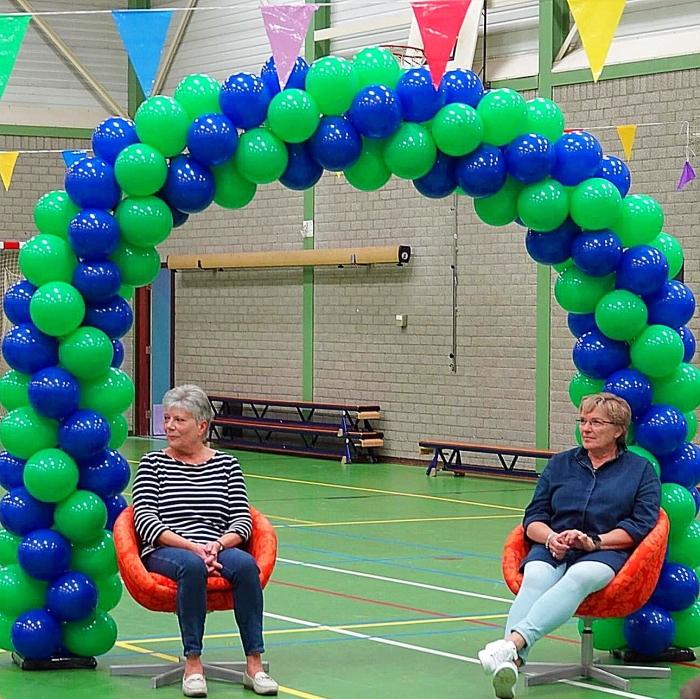 Toos en Joke tijdens het concert. Janine Jonkman © BDU Media