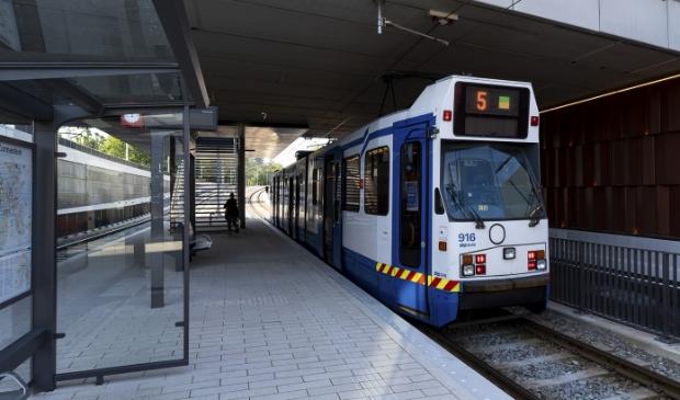 Geen tram 5 komend weekeinde.