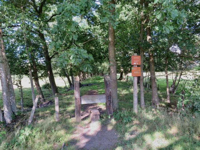 Startpunt van de wandelroute Onno Wijchers © BDU media