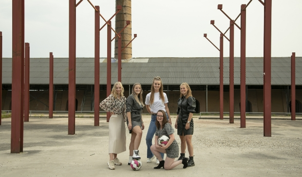 De meiden van VV Duurstede