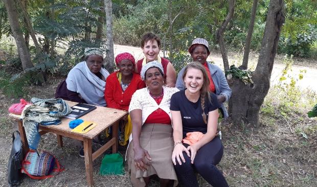 Lonneke Noteboom in Kenia