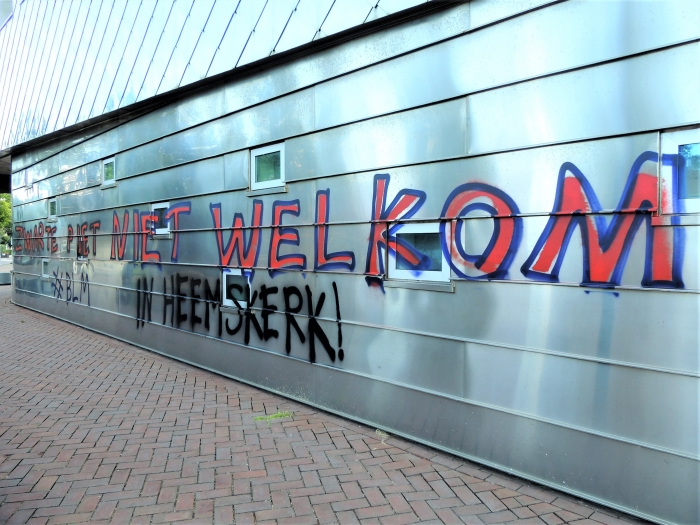 Graffiti Hans Blomvliet © BDU