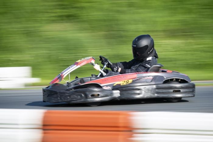 Hoge snelheid op de outdoor baan van Lelystad. Ronald Stiefelhagen © BDU