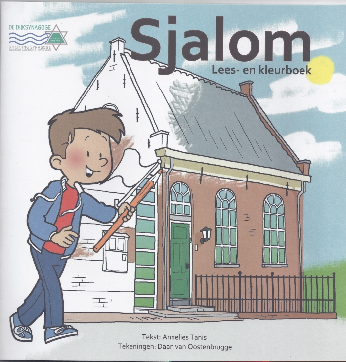 Kleurboekje Sliedrechtse synagoge Dijksynagoge © BDU media