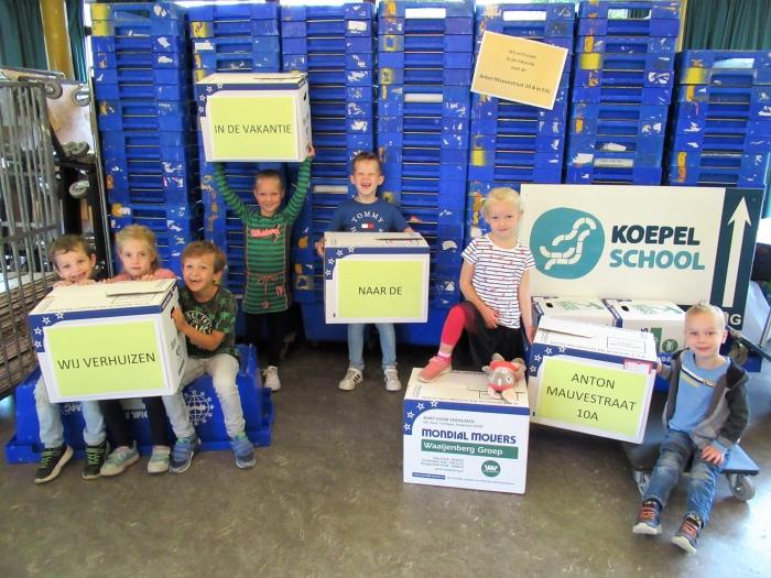De onderbouwlocatie van de Koepelschool verhuist