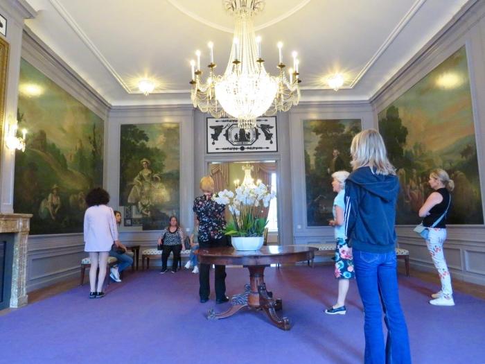 Mamuchetzaal met gerestaureerde wandschilderingen Onno Wijchers © BDU media