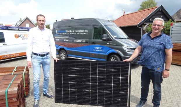 """,,We zijn er trots op dat we Piet Kraaijeveld en zijn bedrijf hebben mogen voorzien van een zonnepaneleninstallatie."""""""