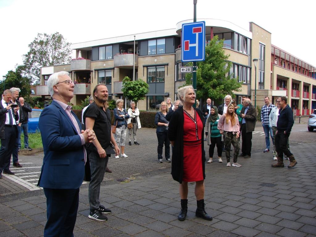 Wethouder Balemans en Kosterman Wes Janssen © BDU media
