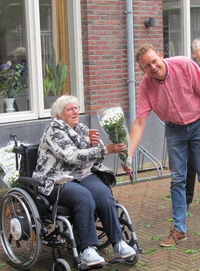 Boer Jaap Vreeken met bewoonster Tineke Smulders