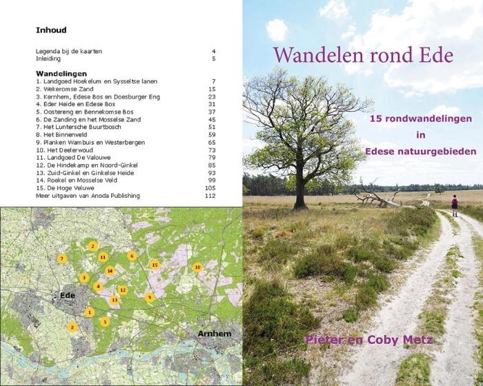 Omslag uitgave Wandelen rond Ede