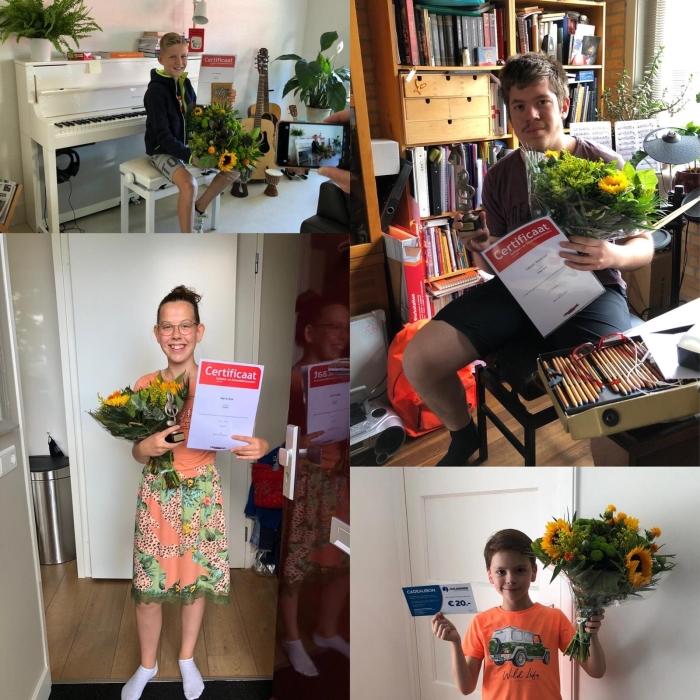 Winnaars Online Solistenconcours Crescendo Sliedrecht