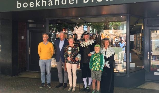 v.l.n.r. Flip Hammann, Ruud Onstein, Ineke Blom, Adriaan Pauw, Per Heeremans en Anna Pauw.