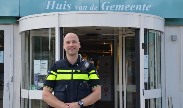 Daniël Visser versterkt het team wijkagenten