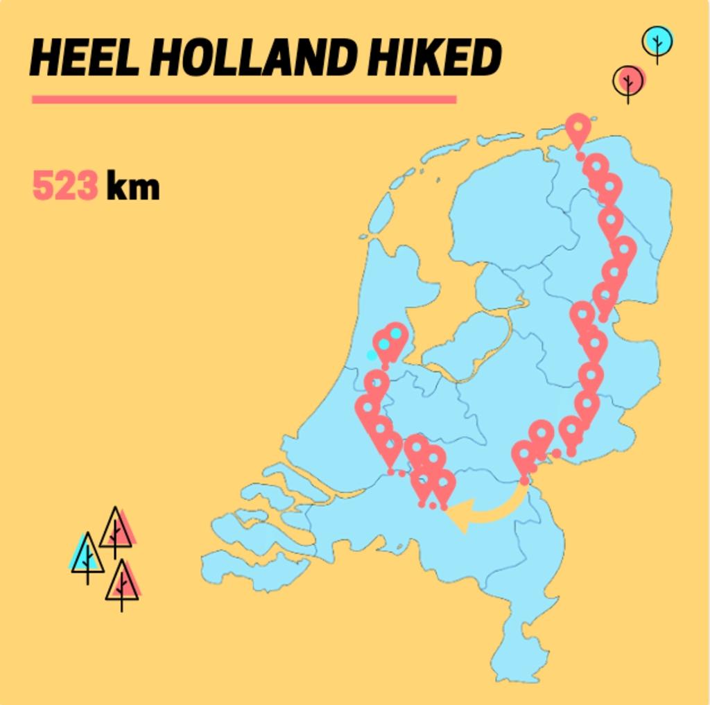 Heel Holland Hiked © BDU media