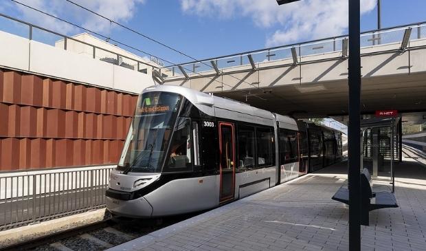 De Amsteltram zal ook stoppen bij de halte Parnassusweg die binnenkort wordt aangelegd.
