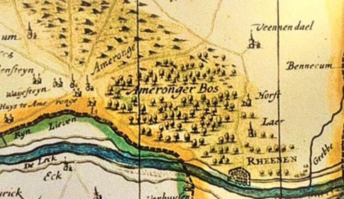 Archeologische kaart Amerongen