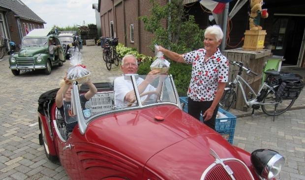 Zomertour van de Fiat 500 Topolino Club Nederland