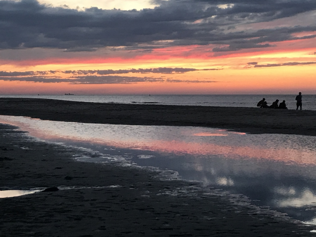Zonsondergang op Vlieland. Yvon van den Akker © BDU Media