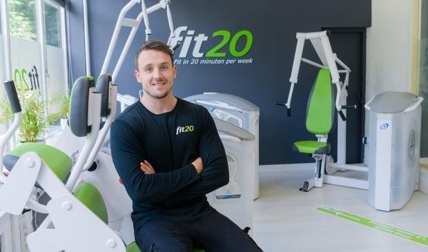 Robbert-Jan Velthuis: '''Fijn om weer mensen te kunnen helpen fit te worden.''