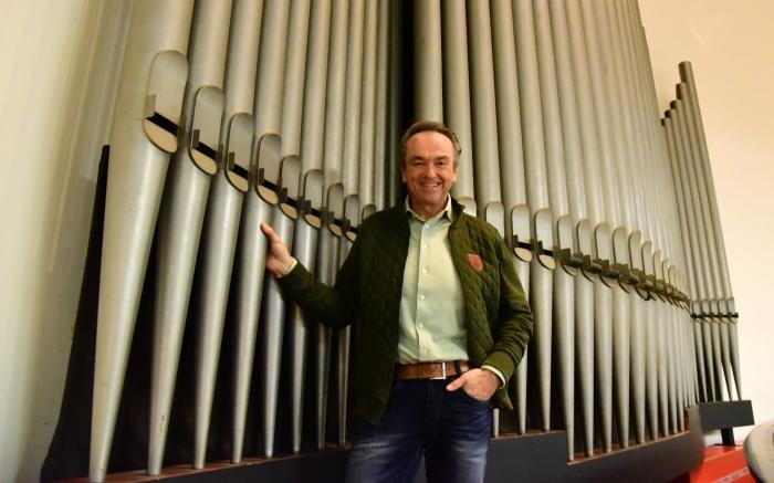 Martin Mans, organist