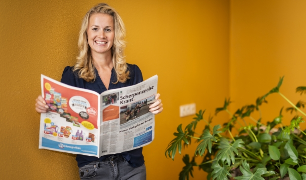 Mieke Westerink: ,,De krant lezen is een van mijn hobby's.''