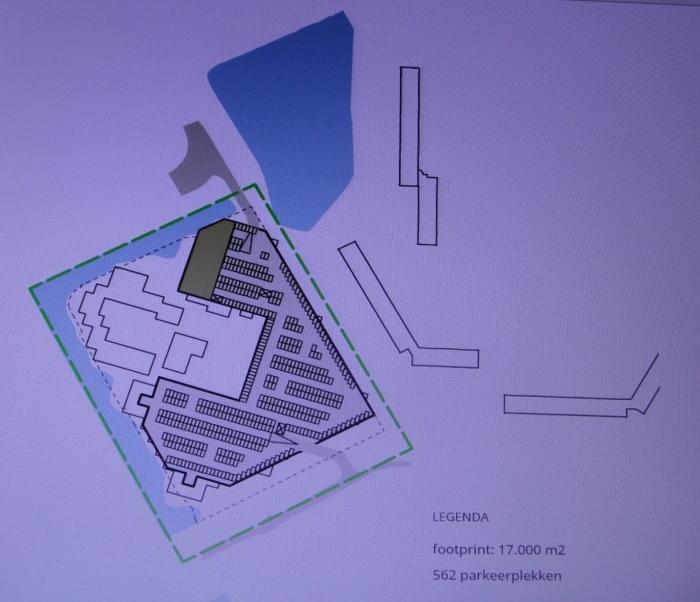 Ondergronds parkeren in klein plangebied