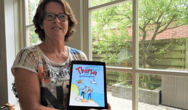 Connie Mitchell is trots op haar 'eigen' kinderboek.