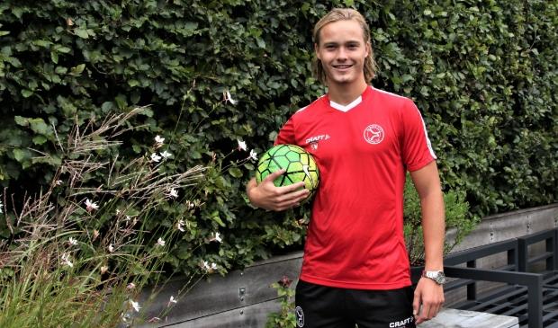 <p>Sam Willemse: een bescheiden voetbaldier met hoge ambities.</p>