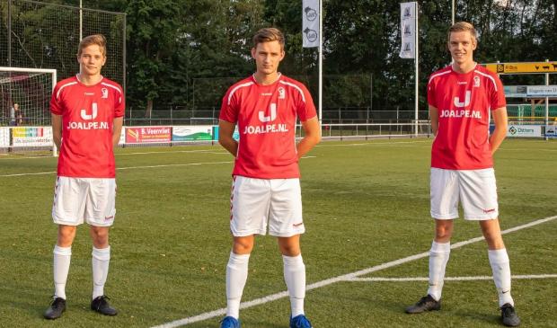 <p>Dick van Heerdt, Dejan Knevel en Tom van Ginkel waren betrokken bij de 1-0 en 2-1.&nbsp;</p>