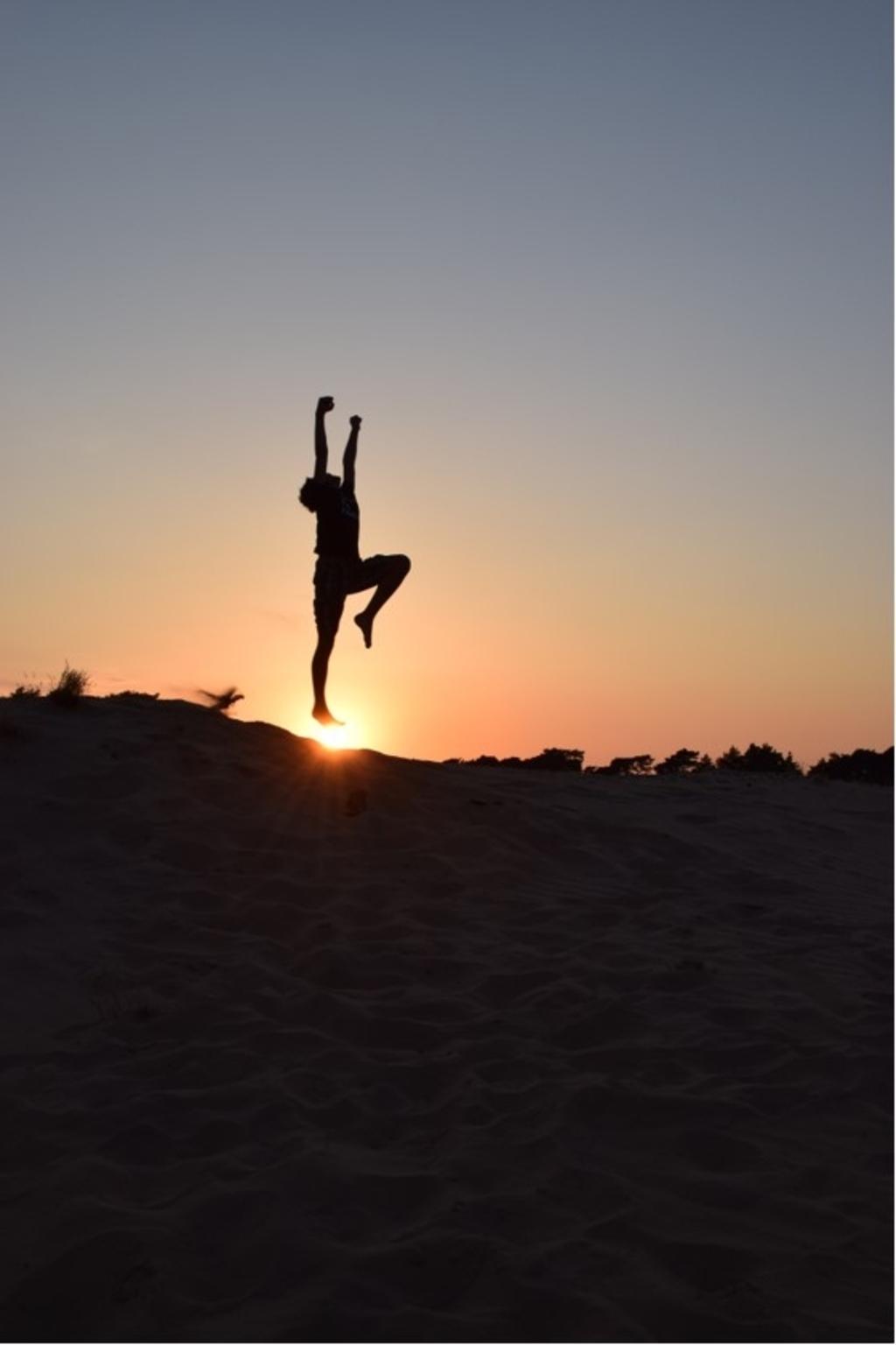Deze foto is gemaakt op 9 augustus 2020 bij het Wekeromse Zand door mijzelf (Lydia Zwart, Bennekom). Op de foto staat mijn zoon, Lucas Zwart (9 jaar). Lydia Zwart © BDU Media