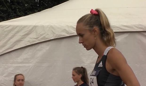 <p>Eva Hovenkamp wint brons op 400 meter.</p>