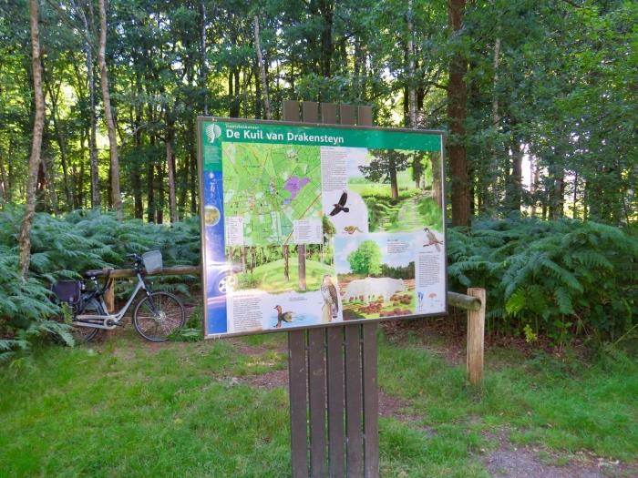 Het start- en eindpunt van de route (met mijn fiets)  Onno Wijchers © BDU media