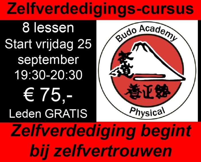 Info voor de cursus