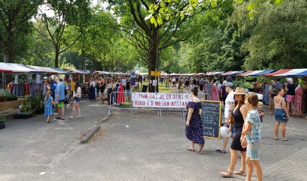 <p>De Pure Markt trekt jaarlijks veel bezoekers, ook in 2020.</p>