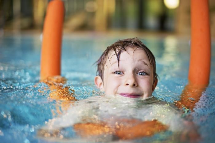 Ook verschillende zwemactiviteiten tijdens de Amerena sportmiddag