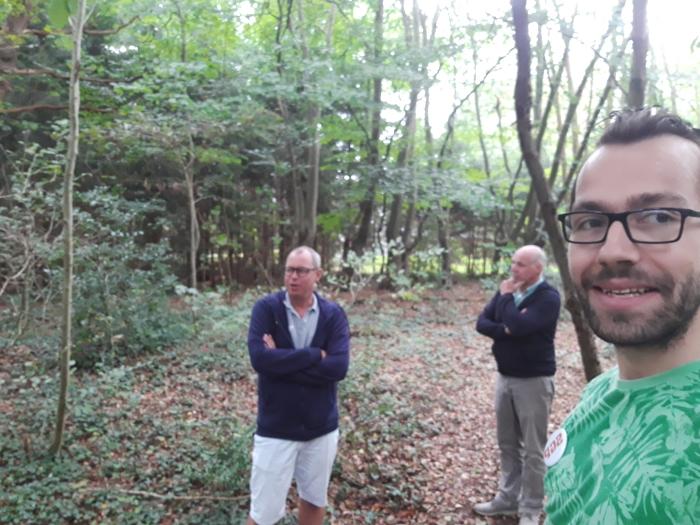 In gesprek bij Plattenberg in Maarn