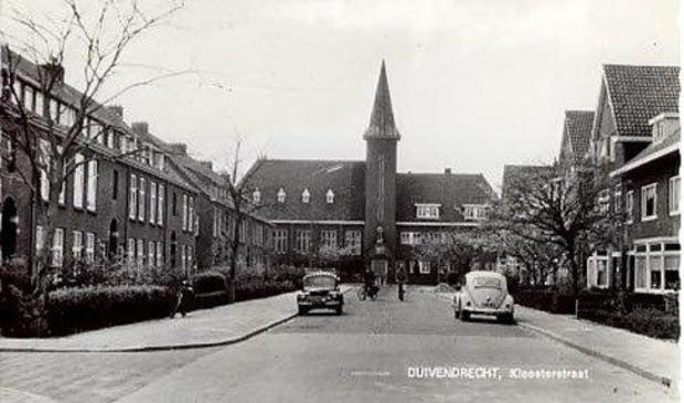 De Kloosterstraat in 1967.