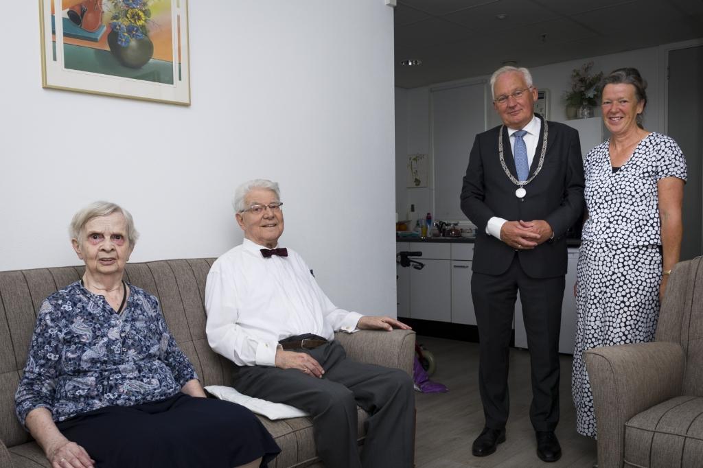 Fam. van de Wijngaard 65 jaar getrouwd