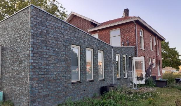 Villa Burbank vanaf de achterkant gezien met aanbouw. Agnes Corbeij © BDU media