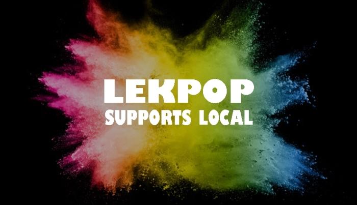 Lekpop actielogo - Lekpop supports local Ferenc Hutjens © BDU media