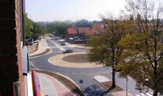 <p>Rotonde Stationsweg.</p>